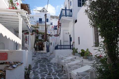 Photo of Mykonos town