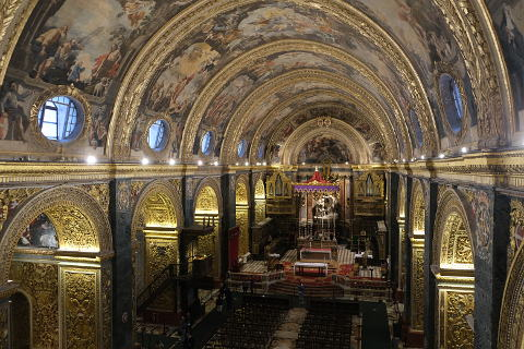 Valletta cathedral